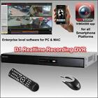 Hikvision 8Ch D1 Realtime Rec DVR iphone Android PC & MAC view,  CCTV kit System