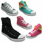 New Unisex Canvas All Star Trainers Kid Converse Plimsolls Hi top Shoes Size11-2