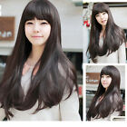 New Fashion Cosplay Daily Party Wig Curly Wave Long Hair Full Wigs Wg Cap Gift