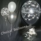 Holy Communion Helium Balloons - All Colours - 10 Table Decorations DIY Kit