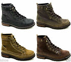 CATERPILLAR CAT BRYANT LEATHER CASUAL WALKING OUTDOOR ANKLE BOOTS SIZE 6-12 NEW