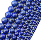 Jewelry Natural Lapis Lazuli Ball Gemstone Loose Beads For Necklace Bracelet DIY