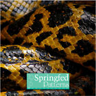 SNAKE SKIN PATTERN CRAFT VINYL #1 Yellow & Black Decal Sheets Scrapbooking Vinyl