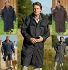 MENS WATERPROOF RIDING JACKET CHAMPION FULL LENGTH COAT CAPE 4 COLS HIGHGROVE