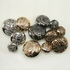 12 x Military Eagle Shield Buttons 15mm 21mm 25mm Shank on back Arms Royal