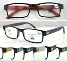 R335 Fashion Reading glasses/imitate wood flexible/Spring Hinges/including cases