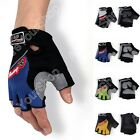 Racing Motorcycle Motorbike Motocross Cycling Dirt Bike Half Gloves B004