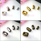 Necklace End Tip Bead Caps 2.4mm,3.2mm,4mm,5mm 4Color-1 R5031-Free Shipping