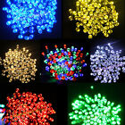 60/100/200 LEDs Solar Auto On/Off String Fairy Lights Party X'mas Garden Outdoor