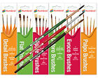 HUMBROL Brushes - Coloro Palpo Evoco Detail Flat Stibble -  Choose Brush