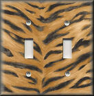 Light Switch Plate Cover -  Animal Print Decor - Tiger Stripes - Home Decor