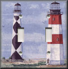 Light Switch Plate Cover - Beach Home Decor - Nautical Lighthouse