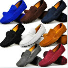 9 Color US Size 5-11 Style Leather Mens Driving Moccasin Loafer Flats Car Shoes