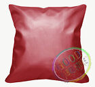 Pi702a Red 3D Laser Print Pattern PVC/PU Cushion Cover/Pillow Case*Custom Size
