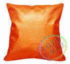 Pi706a Orange Gold 3D Laser Print Pattern PVC Cushion /Pillow Case*Custom Size