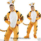 C693 Disney Winnie The Pooh - TIGGER Halloween Fancy Dress Adult Costume