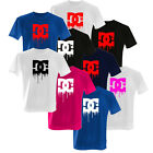 DEATH OF DC SHOES DYING BLEEDING LOGO T-SHIRT DESIGN BRAND NEW ALL SIZES & COLOR