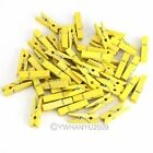 Hot Sale 100pcs Wooden Clothespins Wood Clothes Pins Spring Clamp Hook