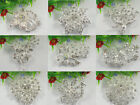 1PCS Different styles of white rhinestone crystal bouquet flower brooch pin