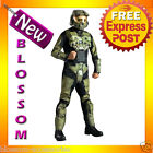 C354 Mens Halo 3 Deluxe Master Chief Suit Outfit Fancy Dress Halloween Costume