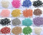 Lots 1000pcs Half-round Flatback Acrylic Pearl For Nail Art Phone Craft Findings