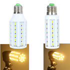 220V E27 15W/10W 2400LM/1680LM 5630 SMD LED Light Corn Bulb Lamp Warm White