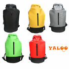 Waterproof Dry Backpack Bag With Zipper For Canoeing Water Sports Picnic Camping