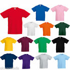 BULK BUYER - FOTL Childrens T Shirt Plain 100% Cotton Blank Kids Tee 12 COLOURS