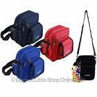 UNISEX Small Shoulder/Travel Utility Cross Body BAG by OBSESSED 4 Colours Camera