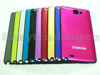 Brushed Metal Battery Cover Door for Samsung Galaxy Note GT-N7000 i9220