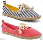 WOMENS ROCKET DOG CHIP CANVAS CASUAL SUMMER ESPADRILLE PUMPS SHOES SIZE 3-8 NEW