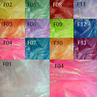 Fxx (Sell Per Meter) 1.2M wide Fancy Crinkle Organza Fabric Dress Decoration