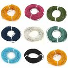 Oxhide Leather Cord Assorted Real Leather Jewelry Making  Cord Necklace 1.5mm