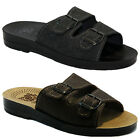 NEW MENS BOYS BEACH FLIP FLOPS SUMMER SHOWER TOE POST MULES SHOE SANDALS BLACK
