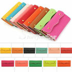 Woman PU Leather Wallet Credit Card Envelope Long Card Holder Purse Clutch Bag