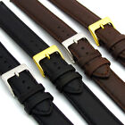 Soft Genuine Leather watch Strap Band Choice of colours FREE UK Post D001