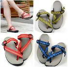 EU36-43 Summer Flip Flops buckle beach Sandal Slide Thong mens shoes   [HA]