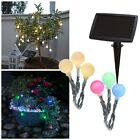 "Solar LED Lichterkette ""Balls"" mit 20 Kugeln ca. 6,75m outdoor / Winter tauglich"