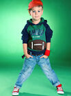 2PCS Baby Boy's Coat (with Hat) + Pants Outfits 1-5Y Clothing #167