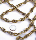 1ft Antique Bronze / Copper Plated Tibetan Silver Chain For Necklace j26 PICK