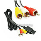 1-50PCS Composite RCA Audio Video AV Cable 1.8 M High quality for Nintendo Wii