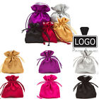 FULLY LINED  LUXURY Satin Gift Pouches Bag Jewellery Pouch All Sizes & Colours