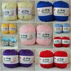Wholesale!  Wool Cashmere Silk Baby Yarn lot/Skeins;Sock Yarn;Sport​s;33 colors