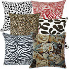 The Animal Zoo Skin Print Cotton Canvas Cushion Cover/Pillow Case*Custom Size
