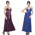 Ever Pretty Women Elegant Ruffle Long Evening Maternity Party Formal Dress 09049