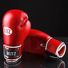 KicksRus - Blitz Firepower Leather Boxing Glove Red