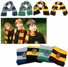 New Harry Potter Gryffindor/ Slytherin/ Ravenclaw/ Hufflepuff Wool Scarf Costume