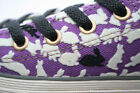 Converse Chuck Taylor All Star Purple with Black & White Bunnies Lo 2 pr laces