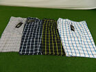 NEW (LOT OF 4) MENS ADIDAS CLIMALITE CONTRAST PLAID GOLF SHORTS CHOOSE SIZE