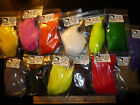 DEER BELLY HAIR DYED -- Premium Hair for Spinning -- Fly Tying pack or lot